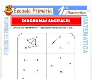 Ficha de Diagramas Sagitales para Primero de Primaria