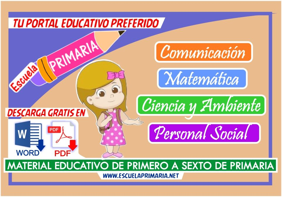 Materiales Educativos Gratuitos para Niños de Primaria