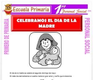 Ficha de Día de la Madre para Primero de Primaria
