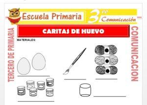 Caritas de Huevo para Tercero de Primaria