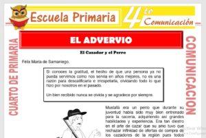 Ficha de El Adverbio para Cuarto de Primaria
