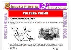 Ficha de La Cultura Chimú para Tercero de Primaria