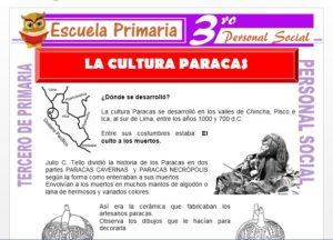 Ficha de La Cultura Paracas para Tercero de Primaria