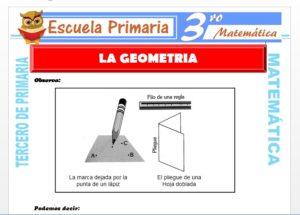 Ficha de La Geometría para Tercero de Primaria