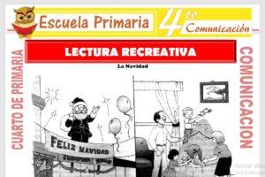 Ficha de Lectura Recreativa para Cuarto de Primaria