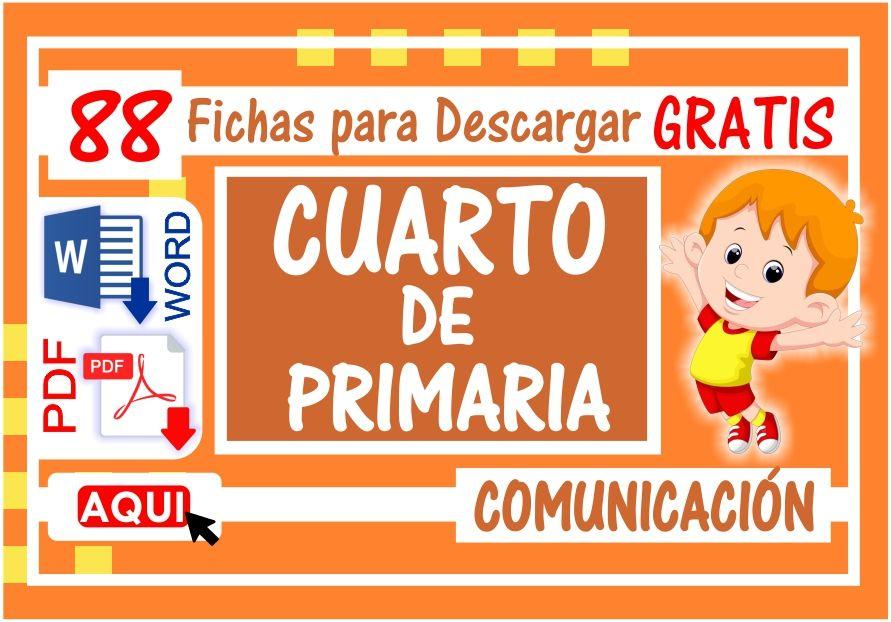 Comunicacion para Cuarto de Primaria