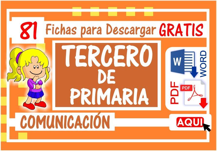 Comunicacion para Tercero de Primaria