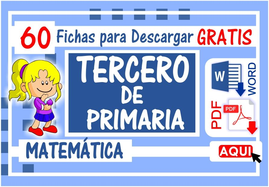 Matematica para Tercero de Primaria