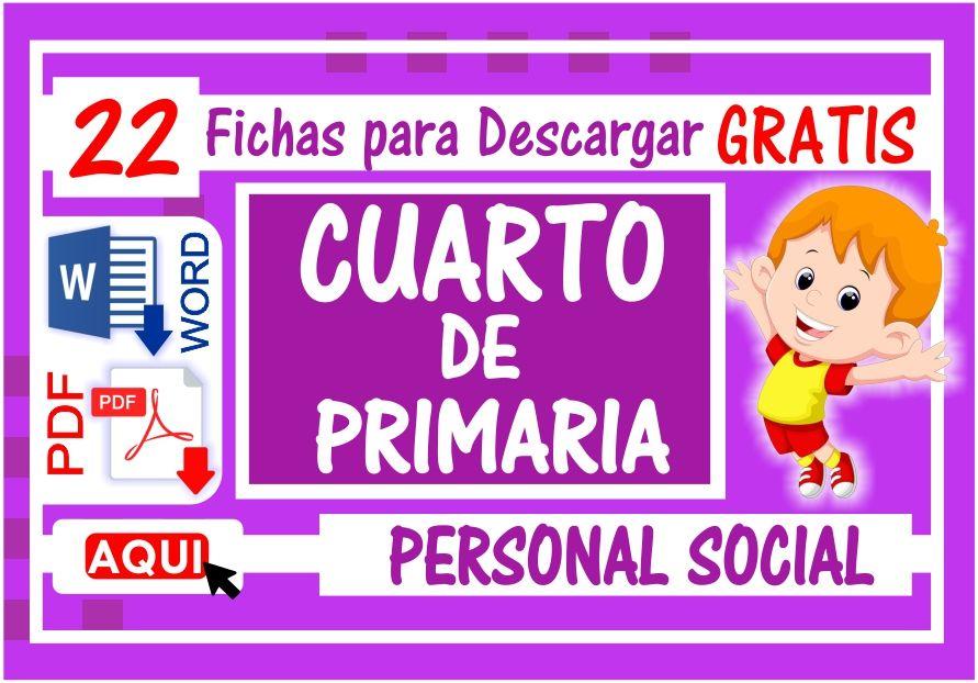 Personal Social para Cuarto de Primaria