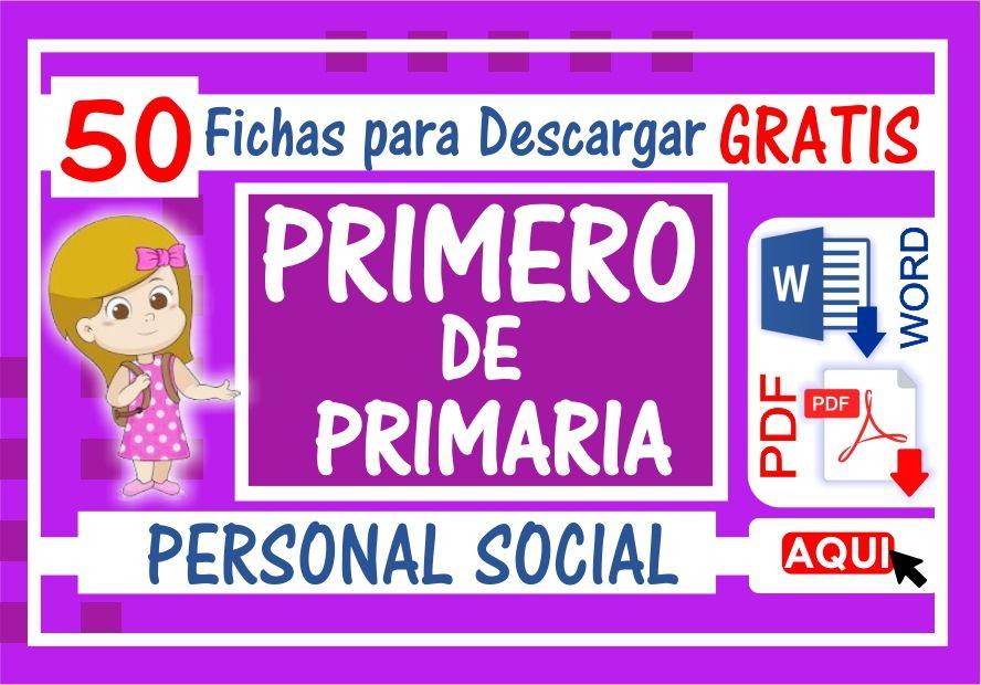 Personal Social para Primero de Primaria