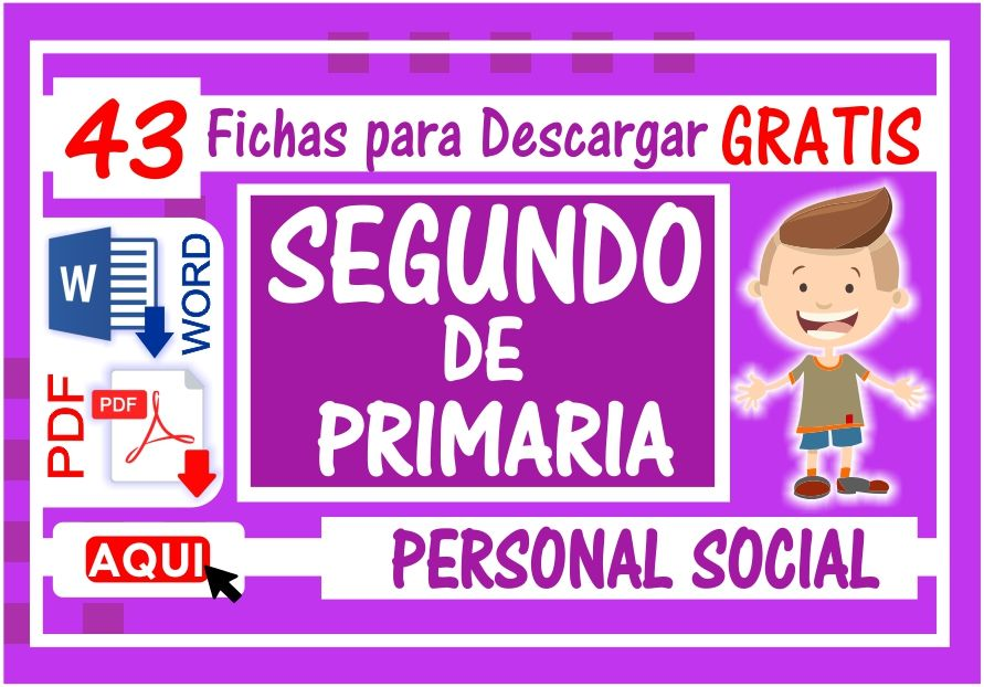 Personal Social para Segundo de Primaria