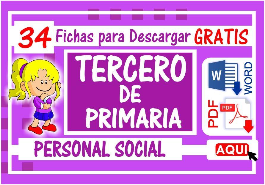 Personal Social para Tercero de Primaria
