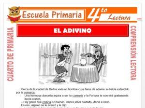 Modelo de la Ficha de El Adivino para Cuarto de Primaria