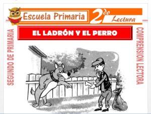 Modelo de la Ficha de El Ladrón y el Perro para Segundo de Primaria