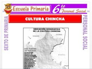 Modelo de la Ficha de La Cultura Chincha para Sexto de Primaria
