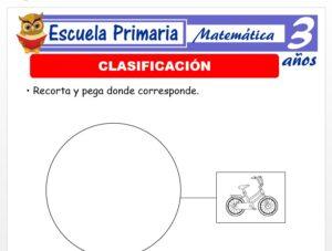Modelo de la Ficha de Clasificación para Niños de 3 Años