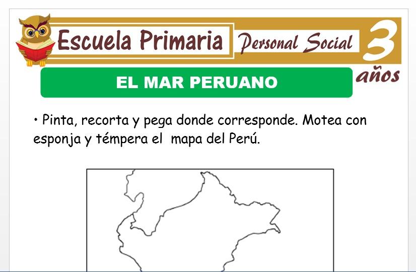 Modelo de la Ficha de El Perù para Niños de 3 Años