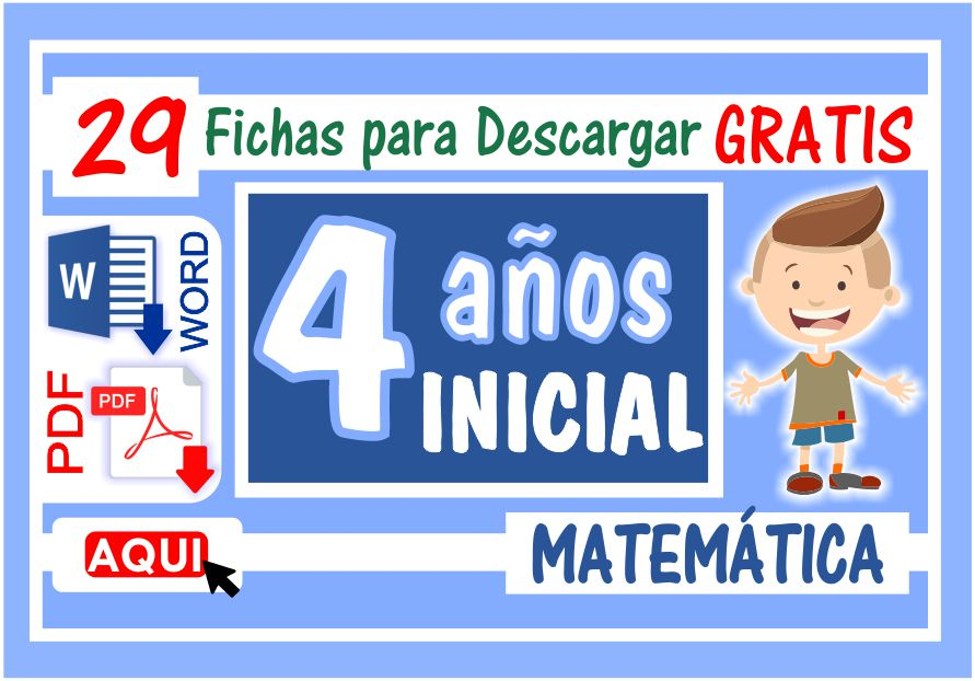 Matemática para Niños de Cuatro Años