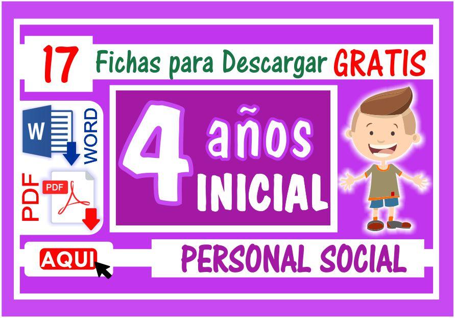 Personal Social para Niños de Cuatro Años