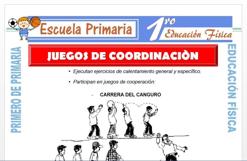 Juegos de Coordinacion Para Primero de Primaria
