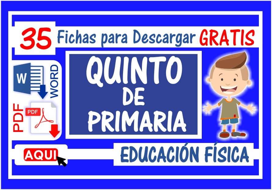 Educación Física para Quinto de Primaria