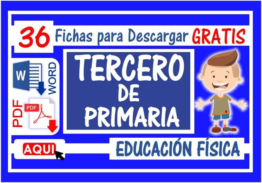 Educación Física para Tercero de Primaria
